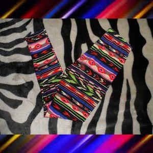 Colorful Designed Leggings Very Cute